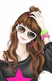 Dp by shao Lovely Girl Image, Cute Girl Pic, Girls Image, Cute Girls, Cute Cartoon Girl, Cool Anime Girl, Anime Art Girl, Korean Illustration, Pop Art Illustration