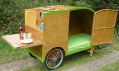 fietscaravan, bicyclecaravan, Fahrrad Wohnnwagen