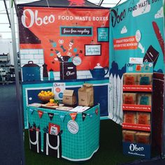 The Obeo food waste box exhibit stand at Bloom Dublin. Bloom 2016, Free Recycle, Exhibition Display, Food Waste, Dublin, Recycling, Campaign, Box, Inspiration