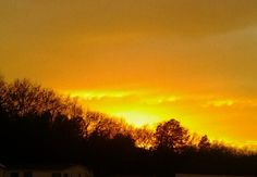 Fire in the sky...