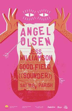 Angel Olsen Gig Poster