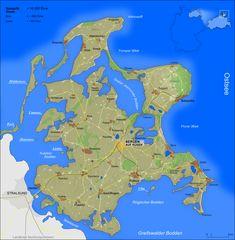 Rügen Map - Ruumlgen Germany • mappery