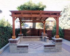 Arched Pergolas from Forever Redwood