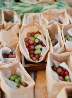 Healthy snacks @ your party