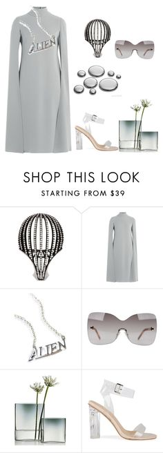 """Untitled #3171"" by doinacrazy ❤ liked on Polyvore featuring Valentino, Disturbia, Fendi and iittala"