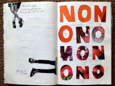 @laurenslovelist | NO | Season of Words | Get Messy Art Journal