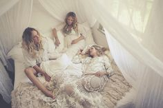 The amazing spell and the gypsy sisters by photographer Sybil Steele