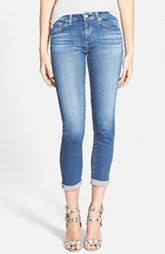 AG 'The Stilt' Roll Cuff Skinny Jeans (13 Year Solitude)