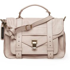 Proenza Schouler PS1 Medium Bag (£1,175) ❤ liked on Polyvore featuring bags, handbags, shoulder bags, purses, bolsas, accessories, shoulder strap handbags, floral purse, pink leather purse and leather shoulder bag