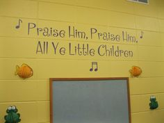 UL is great for churches.  This is in a Sunday school room.  Contact me if you would like to order this custom design.
