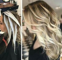 * HOW-TO, Formulas & Pricing >>> #balayage #blonde #hairpainting