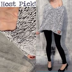 I just discovered this while shopping on Poshmark: Host Pick 2/8/16. Dolman Loose fitting sweater.. Check it out! Price: $15 Size: One size