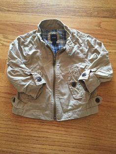 Gap Boys Toddler Jacket Khaki Beige Size 2 2T Coat | eBay