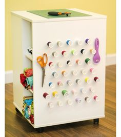 Sewing & Crafting Storage Cube Tablenull