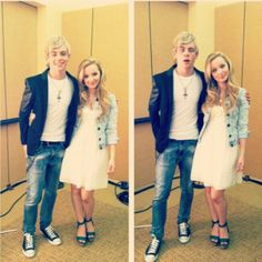 Ross & Dove Cameron