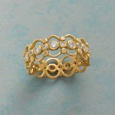 Marian Maurer 18kt Gold Diamond Ring                                              | Robert Redford's Sundance Catalog