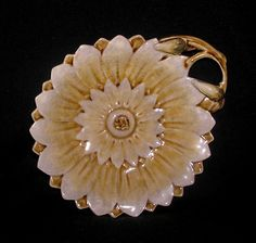 SUPERB ANTIQUE .. ZSOLNAY PECS . MAJOLICA . `FLORAL` PICKLE DISH c.1875