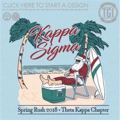 Kappa Sigma | K-Sig | ΚΣ | Spring Rush | Beach | TGI Greek | Greek Apparel | Custom Apparel | Fraternity Tee Shirts | Fraternity T-shirts | Custom T-Shirts