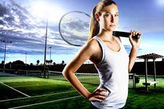 Hanah Tennis Portrait by EvanSimpkins, via Flickr