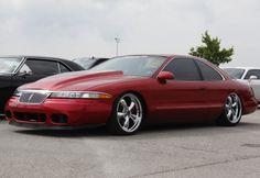 1996 Lincoln Mark VIII LSC custom cobra bumper cobra r hood slammed lowered