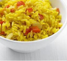 Savoury Rice Recipe at MyDish Savoury Rice Recipe, Savory Rice, Savoury Recipes, Vegetarian Recipes, Bbc Good Food Recipes, Rice Recipes, Recipies, Chicken Recipes, Yummy Food