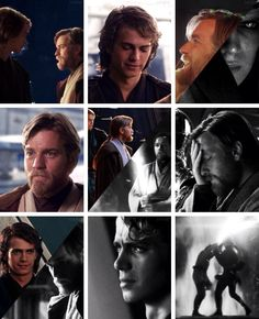 Anakin Skywalker and Obi-Wan Kenobi