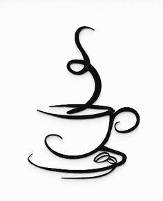 Transférer Des Photos, Cricut Print And Cut, Coffee Cup Art, Fabric Rosette, Cheap Coffee, Baroque Design, Book Folding, I Love Coffee, Rangoli Designs