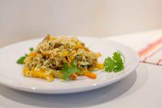 Kuchnia Bazylii: Ryż z boczniakami i warzywami