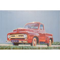 Red Truck for nursery