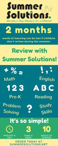 Summer Solutions Math   traveltourswall.com