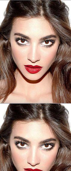 5 maneras de maquillar tus ojos si llevas labios rojos