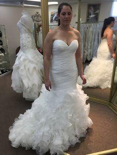 Beaded Vneck Line Wedding Dress From The Darius Collection - Custom Wedding Dress Designers