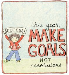 How to Make Goals Instead of Resolutions - I'll show you how to make your goals stick this year! #Secret13 #LWSLbook