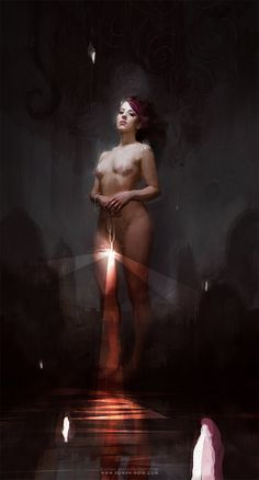 THE LIGHT BEARER, Bastien Lecouffe Deharme on ArtStation at http://www.artstation.com/artwork/the-light-bearer