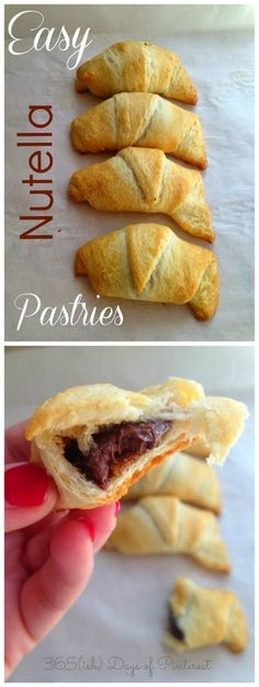 Easy Nutella Pastrie