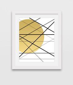 Printable Art Minimalist Art Print Geometric Art Yellow Print Gold Print Abstract Print Gold Wall Art Downloadable Print Wall Art  sc 1 st  Pinterest & Chevron Wall Art Arrows Print Chevron Print Geometric Art Black ...