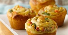 My Favorite Things: In a Pinch Chicken Pot Pie Cupcakes