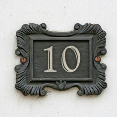 Another address plaque from Suffolk, England