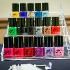 Nail Lacquers #somanycolors