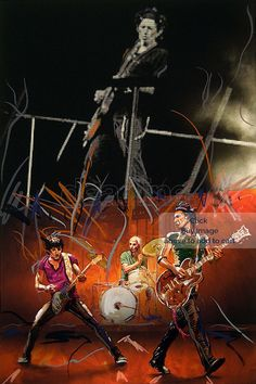 09-Ronnie-Wood-art-guitarists.jpg (500×750)