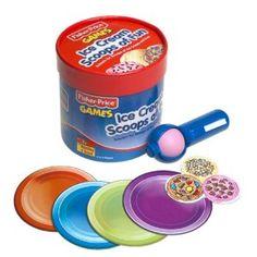 Pre-schoolers  great game Ice Cream Scoops