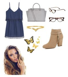 """Untitled #420"" by nataliecapellan on Polyvore featuring MANGO, MICHAEL Michael Kors, Tom Ford and River Island"