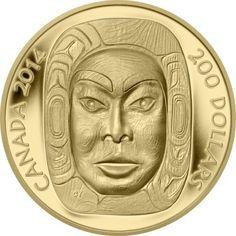 200 Dollar Gold Mondmaske Matriarchin PP