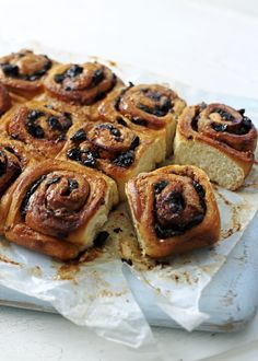 These fruity cinnamon buns have a secret ingredient that could change your whole world view.