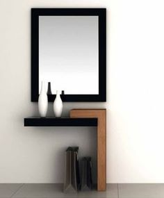 Awesome ideas for decorating the hallway with modern wall mirror designs, home interior wall mirror decor ideas for modern style apartments 2019 Entrance Decor, Entryway Decor, Wall Decor, Hallway Decorating, Interior Decorating, Home Decor Furniture, Furniture Design, Furniture Cleaning, Modern Mirror Design