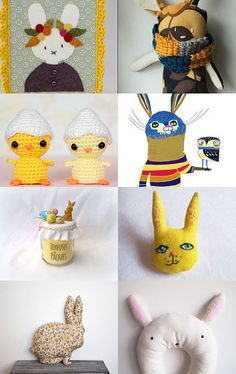 Happy easter by Ludivine Eyffred on Etsy--Pinned with TreasuryPin.com