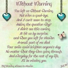 Sister In Heaven Quotes - Yahoo Image Search Results Miss Mom, Miss You Dad, Sister In Heaven, Missing My Brother, Dear Sister, Big Sis, Grief Poems, Be My Hero, Grieving Quotes