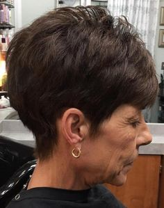 Pixie Hairstyle For Older Women