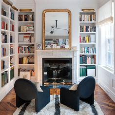 These chairs! This floor! That mirror! That light fixture! Love it all!