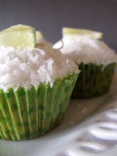 Vegan Lime in the Coconut Cupcakes